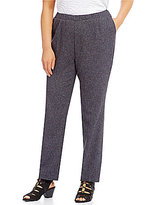 Allison Daley Plus Pull-On Modern Straight Leg Pants