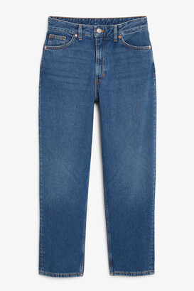 Monki Taiki classic blue jeans