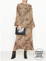 Gestuz Christine Leopard Print Maxi Dress