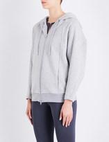 adidas by Stella McCartney Essentials cotton-fleece hoodie
