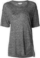 Etoile Isabel Marant Keko T-shirt - women - Linen/Flax - S
