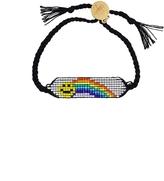 Venessa Arizaga Rainbow Smiley Bracelet