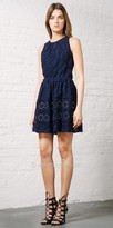 Greylin Yunis Grommet Lace Dress