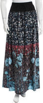 Clover Canyon Printed Maxi Skirt w/ Tags