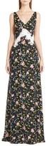 Emilio Pucci Print Silk Georgette Gown