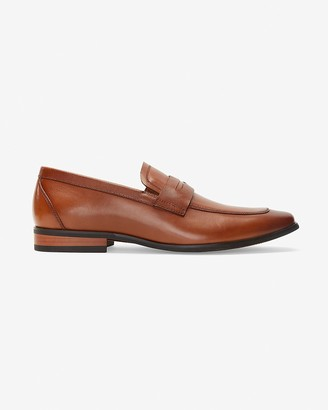 Express Leather Loafer Dress Shoes