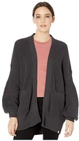 Rip Curl Warm Hearted Cardigan (Dark Grey) Women's Sweater