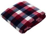 Lavish Home Throw Blanket, Cashmere-Like, Red/Blue/White