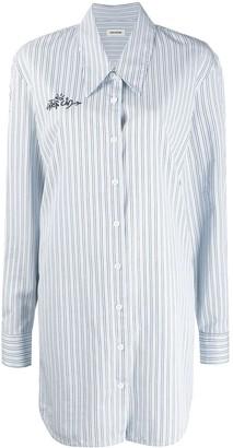 Zadig & Voltaire Stripe Print Shirt Dress