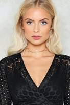 Nasty Gal nastygal Out of the Loop O-Ring Choker