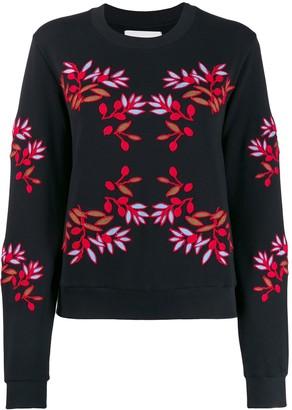 Henrik Vibskov Embroidered Flower Sweatshirt
