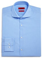 HUGO Mini Check Regular Fit Dress Shirt