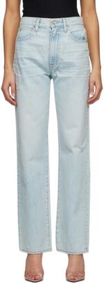 SLVRLAKE Blue London Straight Jeans