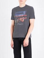 Balenciaga Paris At Night cotton-jersey T-shirt
