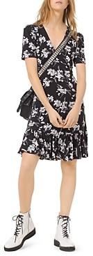 MICHAEL Michael Kors Floral Print Jersey Dress