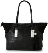 French Connection Black Camden Tote