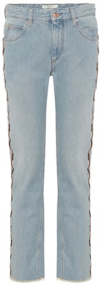 Etoile Isabel Marant Colan embroidered jeans