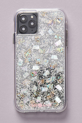 Case-Mate Mother of Pearl iPhone Case By in Silver Size M