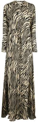 Nicholas animal print maxi dress