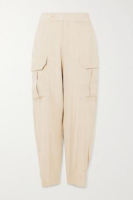 Equipment Agadire Twill Straight-leg Cargo Pants - Beige
