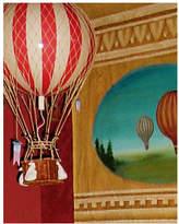 Royal Aero Balloon Ornament in True Red