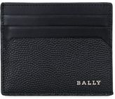Bally Logo Detail Leather Card Holder