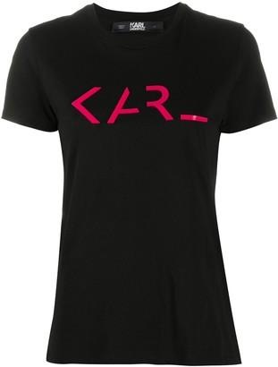 Karl Lagerfeld Paris Legend logo print T-shirt