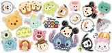 Disney Tsum Tsum Decorative Sticker 20 Elements Wall Decal (Portrait Tsum Tsum)