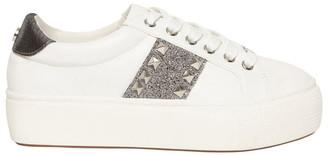 Steve Madden Escala-C Silver Sneaker
