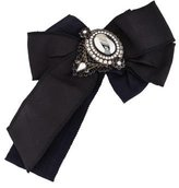 Dolce & Gabbana Embellished Bow Pin