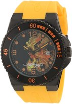 Ed Hardy Men's IM-DR Immersion Dial Watch