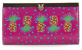 Patricia Nash Polka Dot Pineapple Collection Cauchy Wallet
