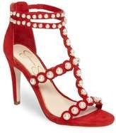 Jessica Simpson Eleia Imitation Pearl Stud Sandal