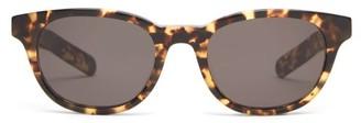 Flatlist - Logic Round Acetate Sunglasses - Mens - Tortoiseshell