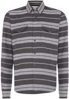 Barbour Men's Horizontal stripe long sleeve shirt