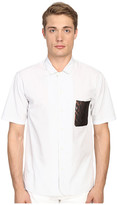 Marc Jacobs Dobby Classic Short Sleeve Button Up