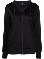 Thumbnail for your product : Paul Smith Zip-Up Stripe-Detail Hoodie