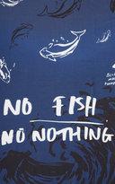 Kenzo Fish Foundation Scarf