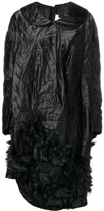 Comme des Garcons Quilted Asymmetric Hem Dress