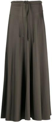 Lemaire Long Tie Waist Skirt