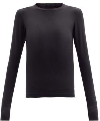 Cordova Ribbed-jersey Thermal Top - Black