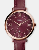 Fossil Jacqueline Red Analogue Watch