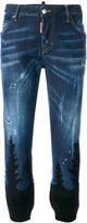 DSQUARED2 patterned Cool Girl jeans - women - Cotton/Polyamide/Spandex/Elastane/Wool - 44