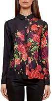 Ted Baker Aplih Juxtapose Rose Shirt