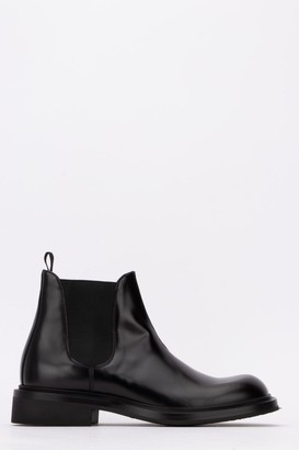Prada Elastic Side Panelled Ankle Boots