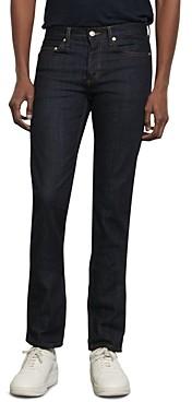 Sandro Slim Fit Jeans in Raw Denim