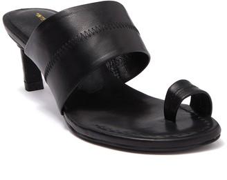 INTENTIONALLY BLANK Ving Toe Loop Leather Sandal