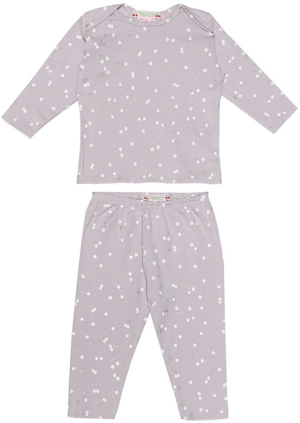 Bonpoint Baby printed cotton pajama set
