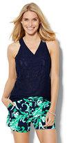 New York & Co. 7th Avenue Design Studio - Lace Halter Blouse