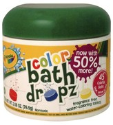 Crayola Color Bath Drops - 45 count